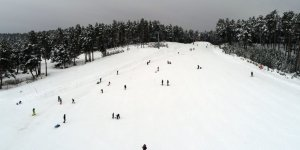 Cıbıltepe kayakseverlerle dolup taştı