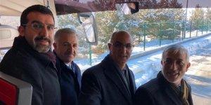 AK Parti Adayı Avukat Ensar Erdoğdu'ya coşkulu karşılama