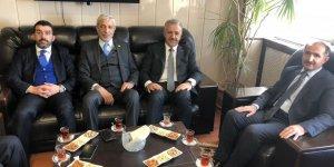 AK Parti Milletvekilleri ve İl Başkanından Rektör Kapu'ya ziyaret