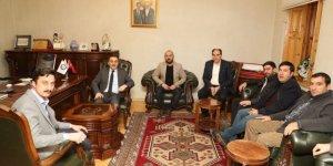 Vali Öksüz Başkan Alibeyoğlu'nu Ziyaret Etti