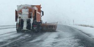 Kars'ta 54 köy yolu ulaşıma kapandı