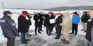 Kars Valisi Türker Öksüz, Sarıkamış Şehitlerinin 104. Yılı Anma Programı hazırlıklarını inceledi