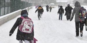 Kars'ta öğlenden sonra okullara kar tatili