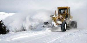Kars'ta Kars'ta 24 köy yolu ulaşıma kapandı