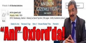 """""""Ani"""" Oxford'da"""