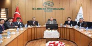 DSİ Kars 24. Bölge Müdürlüğünde, 2019 yatırım programı görüşüldü