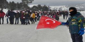 On binlerce katılımcı Şehitleri anmak için Sarıkamış'ta bir araya geldi