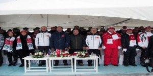 Sarıkamış Ay Yıldız Tören alanında anma töreni düzenlendi
