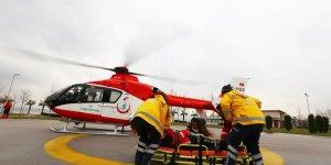 Ambulans helikopter 2018'de 146 kez havalanarak Türkiye birincisi oldu