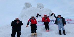 Snowboard Alpine 1. Etap Yarışları Sarıkamış'ta sona erdi