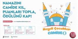 """Yarıyıl tatilinde """"Haydi Çocuklar Camiye"""" yarışması"""