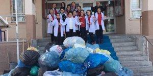 Kars'ta öğrencilerden geri dönüşüm kampanyası