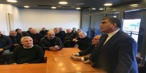 CHP Adayı Taner Toraman'a İstanbul'daki hemşehrilerinden destek