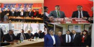 CHP heyetinden seçim bürolarına ziyaret