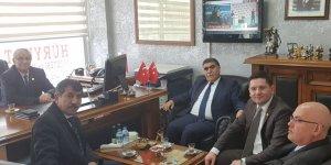 CHP Adayı Toraman gazetekars.com'u ziyaret etti