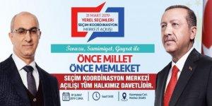 Ak Parti Seçim Koordinasyon Merkezi Açıyor