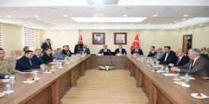 Mahalli Sulak Alanlar Komisyonu toplantısı yapıldı