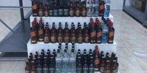 Kars'ta kaçak içki ele geçirildi
