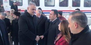 Bakan Ersoy, Doğu Ekspresi'yle Kars'a geldi