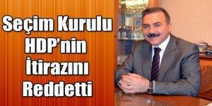 Kars Merkez İlçe Seçim Kurulu kararını verdi; Alibeyoğlu seçime giriyor