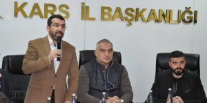 Bakan Ersoy, Ak Parti Kars İl Başkanlığını ziyaret etti