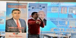 CHP Kars adayı Taner Toraman'a İstanbul'dan destek