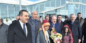 Bakan Mustafa Varank Kars'a geldi