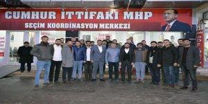 AK Parti Gençlik Kollarından Cumhur İttifakı SKM ziyareti