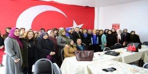 AK Parti Kars İl Kadın Kollarından Cumhur İttifakı adayına ziyaret