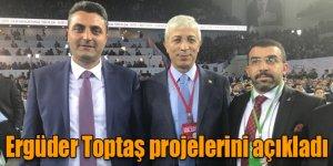 AK Parti Akyaka Belediye Başkan Adayı Ergüder Toptaş Projelerini Açıkladı