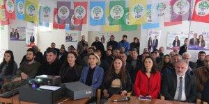 """HDP Kars'ta projelerini açıkladı: """"Kars'ı halkla birlikte dönüştüreceğiz"""""""