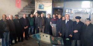CHP Adayı Taner Toraman, sanayi sitesi esnafını ziyaret etti