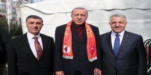 Cumhurbaşkanı Erdoğan'dan Çetin Nazik'e Tam Destek