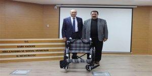 Karslı hayırsever işadamı Orhan Cihantimur'dan anlamlı bağış