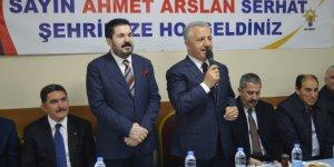 Ahmet Arslan, Savcı Sayan'a destek istedi