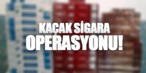 Kağızman'da 618 paket kaçak sigara ele geçirildi