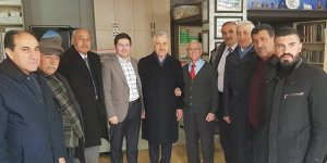 Milletvekilleri Ahmet Arslan ve Yunus Kılıç'tan gazetekars.com'a Ziyaret