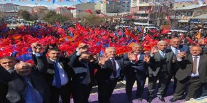 AK Parti'ye Kağızman'da tam destek