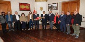 Turizmcilerden Vali Türker Öksüz'e ziyaret