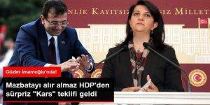 HDP'li Pervin Buldan'dan Ekrem İmamoğlu'na Teklif: Kars'ı Kardeş Belediye Seçin