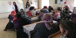 Kars'ta aşı farkındalığı eğitimi verildi