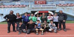 Cevriye Tatış Ortaokulu Atletizm İl birincisi oldu