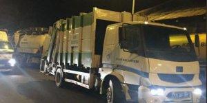 Iğdır Belediyesi'nden gönderilen temizlik araçları Kars'a geldi
