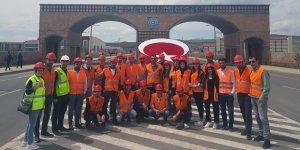 Sarıkamış MYO'dan kurumlara teknik eğitim gezisi
