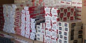 Digor'da 980 paket kaçak sigara ele geçirildi