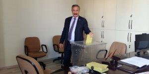 SMMM Bölge Odası Başkanı Turgut Güzey, Güven Tazeledi