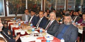 Kars'ta AK Parti'nin iftar yemeği yoğun ilgi gördü