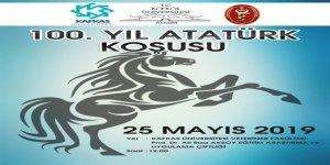 Kars'ta 100. Yıl Atatürk Koşusu Yapılacak