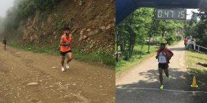 Kars'lı atlet Trabzon'da 4'üncü oldu