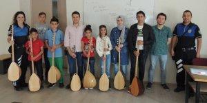 Kars polisinden Mesleki, Kültür, Sanat ve Spor kursu!